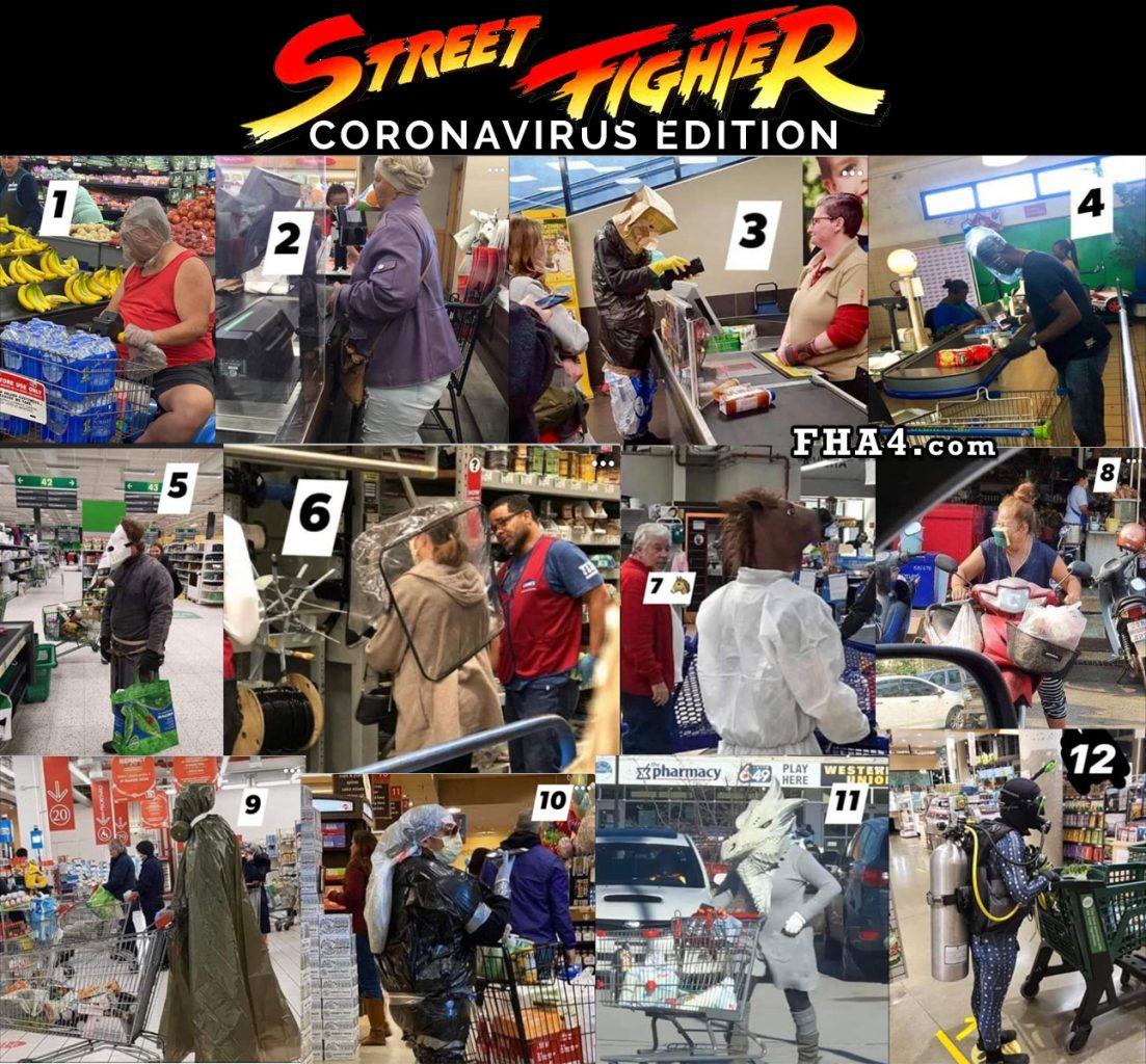 CoronaVirus Street Fighter Edition