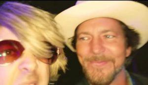 Pearl Jam Eddie Vedder joins Flashback Heart Attack